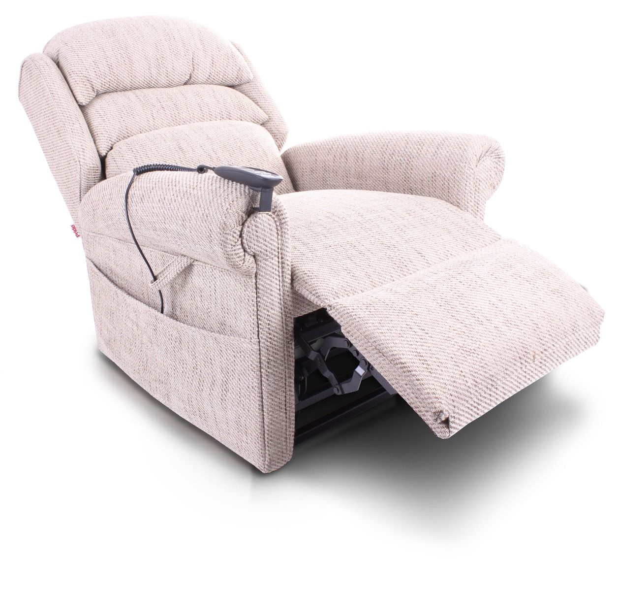 Sleep Recliner Chair Pride Sussex Fabric Riser Recliner