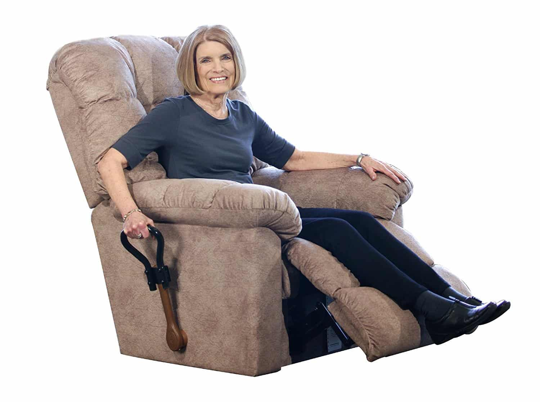 recliner chair handle broken rail molding home depot how to fix a pull  expert guide