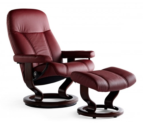stressless chairs reviews hard surface chair mat consul classic recliner ottoman from 1 695 00 by