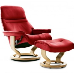 Stressless Chairs Reviews Ikea Pink Desk Chair Sunrise Classic Recliner Ottoman From 2 295 00 By