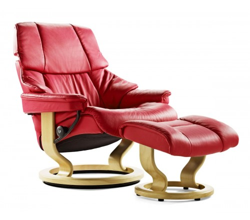 600 off the stressless wing recliner through april 8
