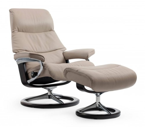 recliner vs chair with ottoman can you paint leather chairs stressless view signature from 3 195 00 by