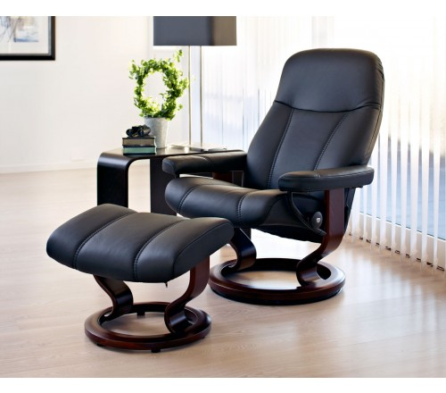 stressless chairs reviews salon pedicure consul classic recliner ottoman from 1 695 00 by 35 review s add your