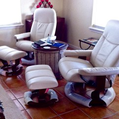Stressless Chair Repair Parts Oversized Zero Gravity With Canopy Consul Classic Recliner And Ottoman From 1 695