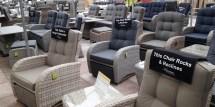 reclining rattan chairs