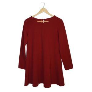 Vestido bordeaux - reCloset roupa em segunda mão