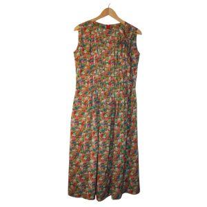 Vestido florido comprido - reCloset roupa em segunda mão