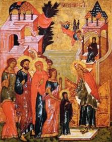 Présentation de Marie au Temple - Les Recluses Missionnaires