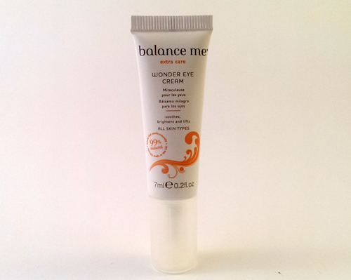 Balance Me Eye Cream July 2014 Birchbox