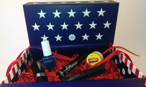 Glossybox July Stars and Stripes