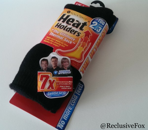 Heat Holder Thermal Socks Review
