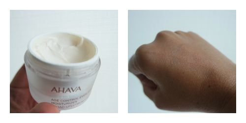 Ahava Moisturiser Review