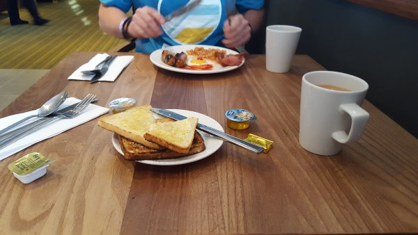 Premier Inn Bridge Street Canal Side Breakfast