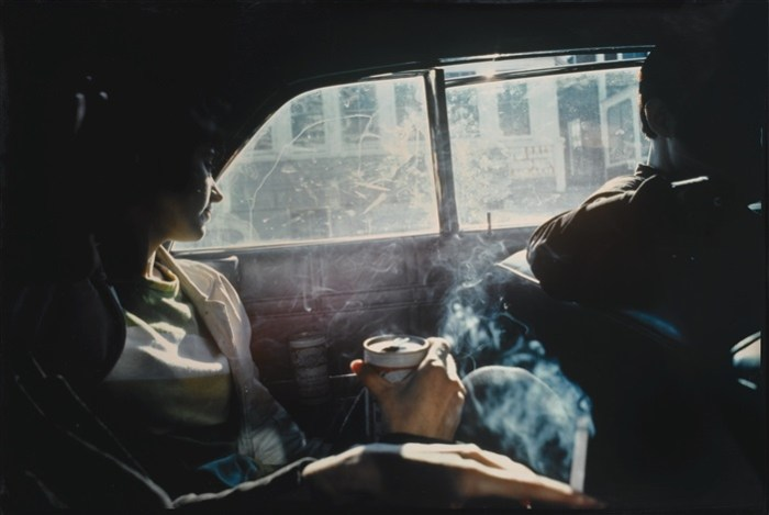 Nan Goldin: Smoky car, New Hamshire