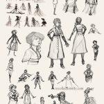 Costume concept art