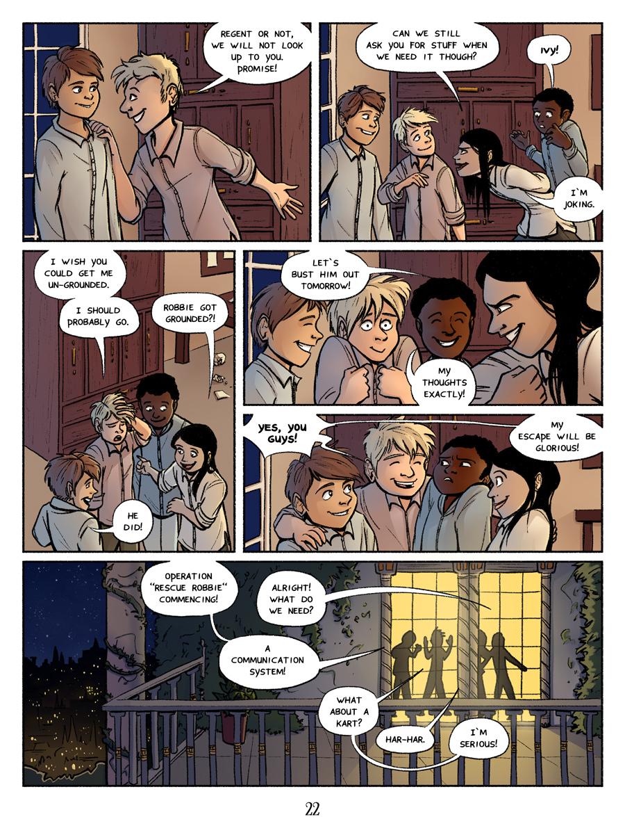 Page 22 - BFFs!