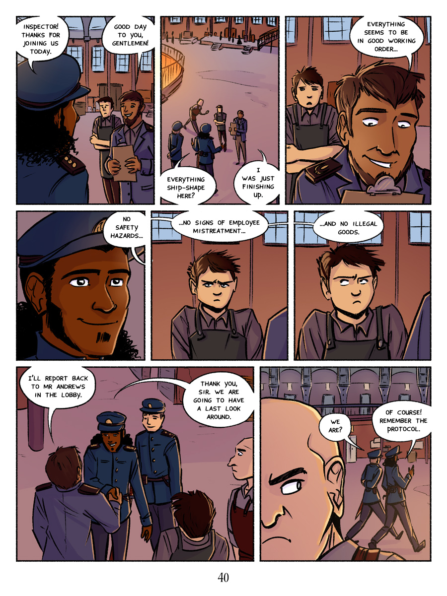 Recollection City page 40 - Clues