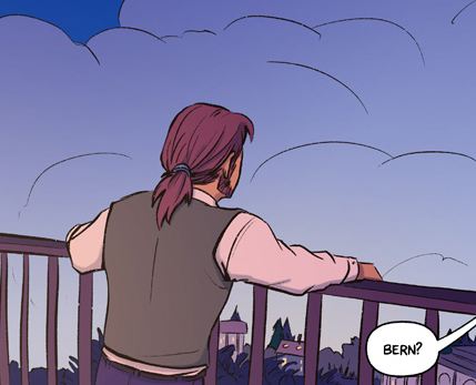 Recollection City webcomic teaser page 84