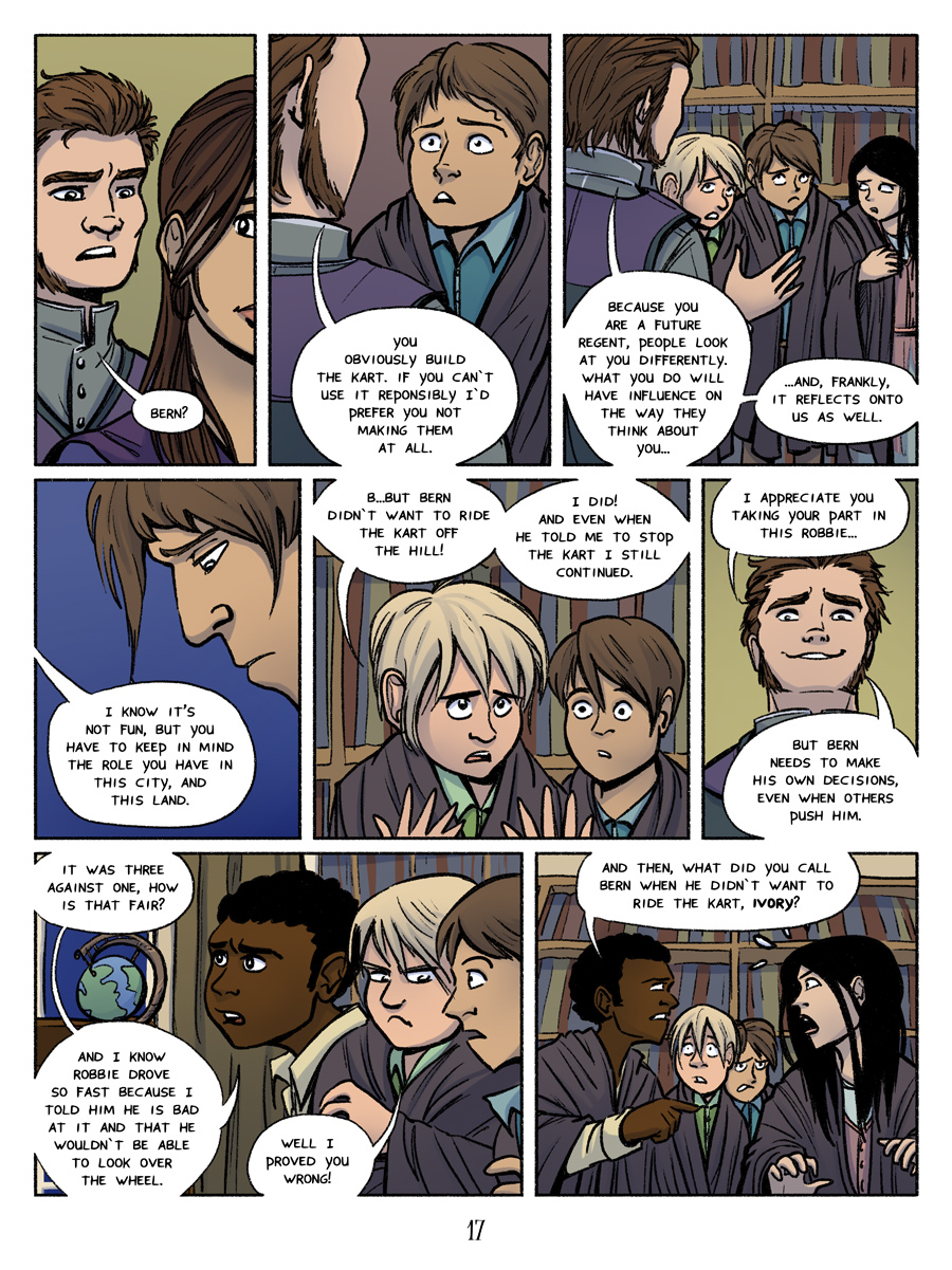 Recollection City page 17 - Shared responsibility