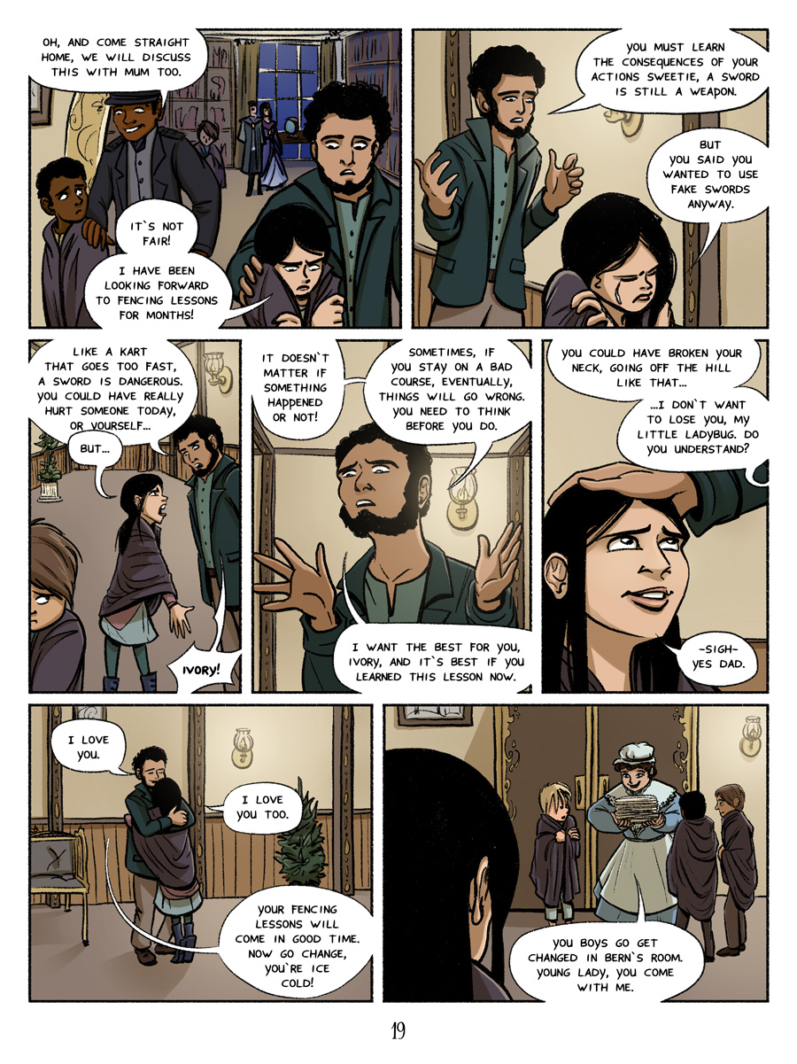 Page 19 - lessons. No fencing I guess