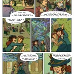 Recollection City page 31 - the Return of the Weird Trees and the Gossip Squad