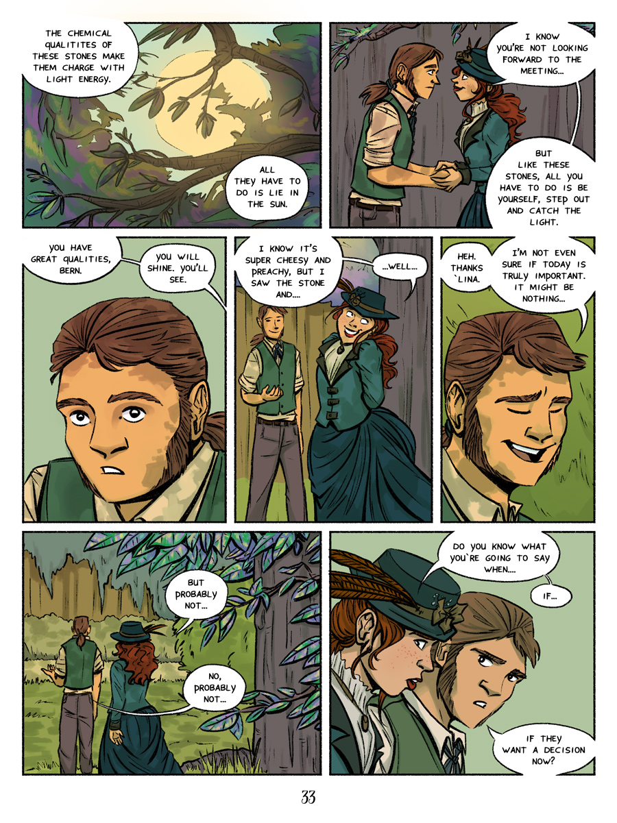 Recollection City page 33 - a cheesy speech