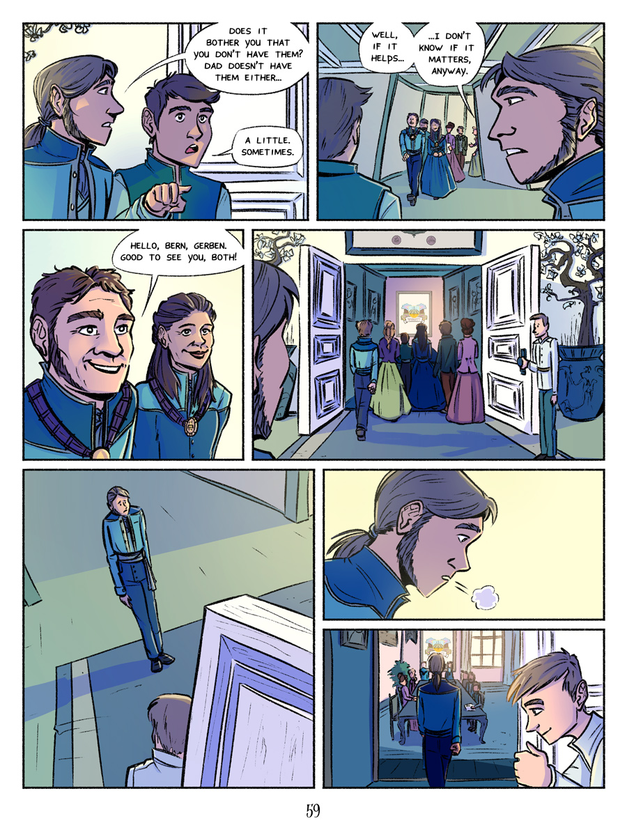 Recollection City page 59 - Moment of truth