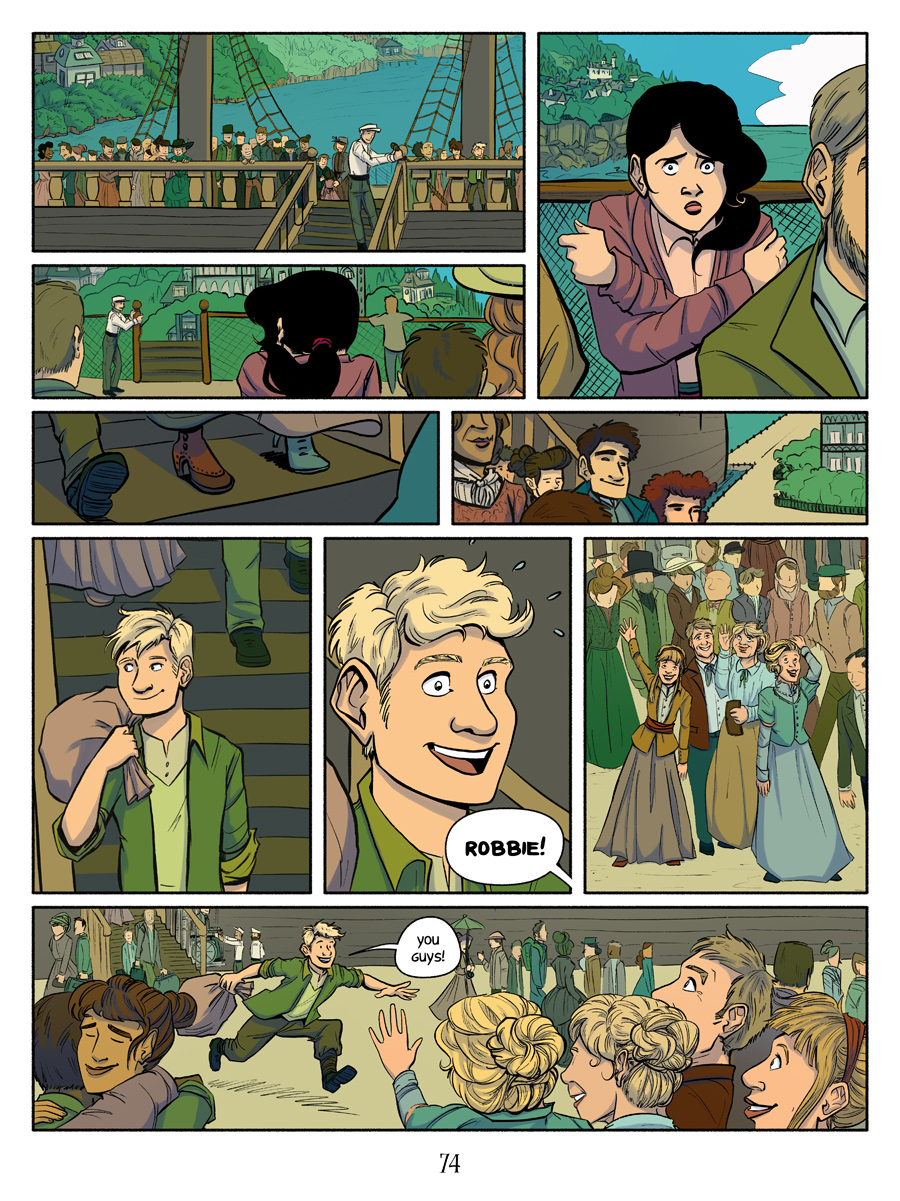 Recollection City page 74 - Arrival