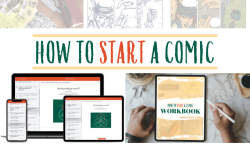 How to Start a Comic image