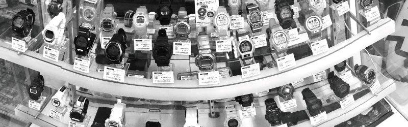 ブランド時計売り場