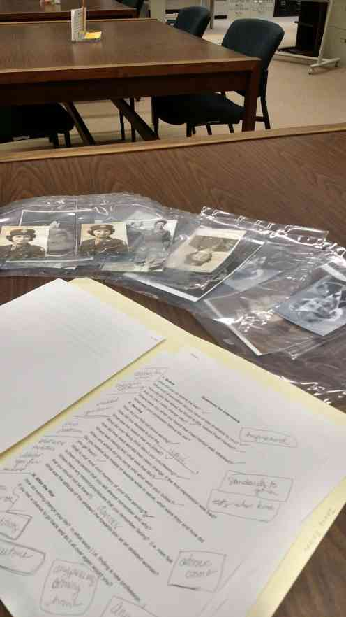 Photos and research from the World War II collection at UW Green Bay