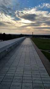 The Highground at sunset