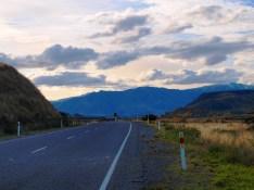 Straße nach Queenstown - Südinsel