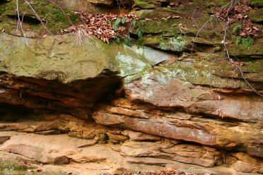 """In diesen Felsen haben wir """"Gold"""" gesiebt."""