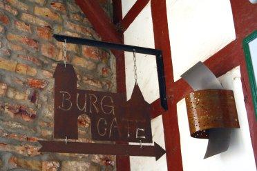 Das Burgcafé ...