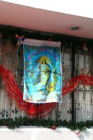 Die weiße Flagge der Jungfrau Maria - Maria Immaculada.