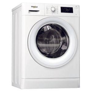 Masina de spalat rufe Slim Whirlpool FWSG71253W FreshCare+, 1200 RPM, 7 kg, Tehnologia al 6-lea Simt, Clasa A+++, Alb reducere Emag