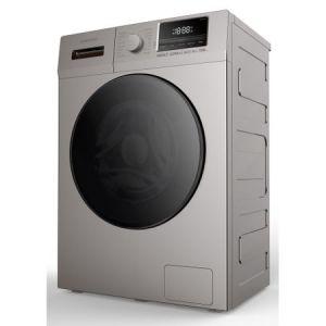 Masina de spalat rufe Daewoo DWD-8T1227P, 8.5 Kg, 1200 RPM, Clasa A+++, 6 programe, Argintiu reducere Emag
