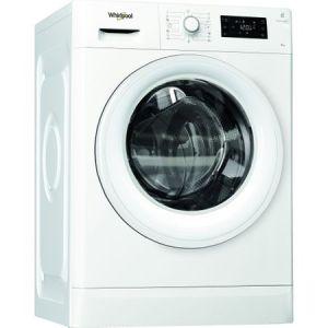 Masina de spalat rufe Whirlpool FreshCare FWG81284WEU, 8 kg, 1200 RPM, 6th Sense, Clasa A+++, Alb reducere Emag