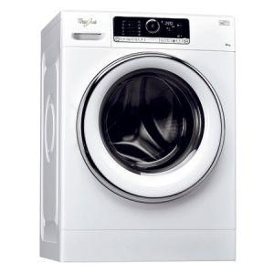 Masina de spalat rufe Whirlpool FSCR80423, 6th Sense, Supreme Care, 8 kg, 1400 RPM, Direct Drive, Touch Control, Clasa A+++, 60 cm, Alb reducere Emag