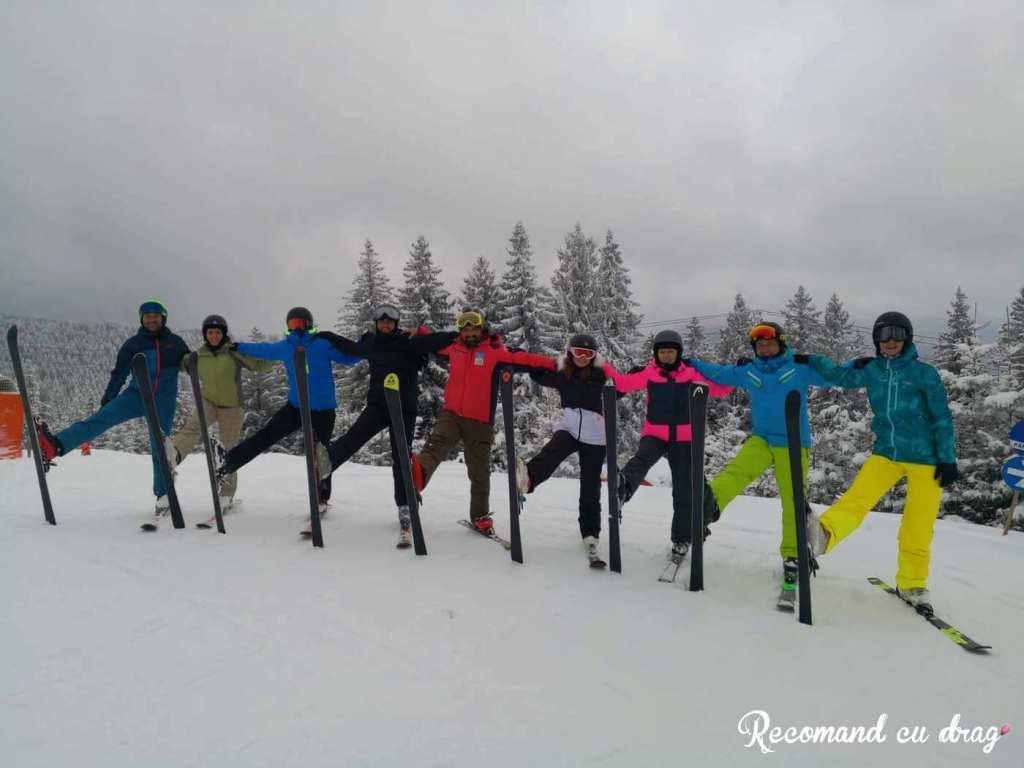 Scoala de schi Arena Platos