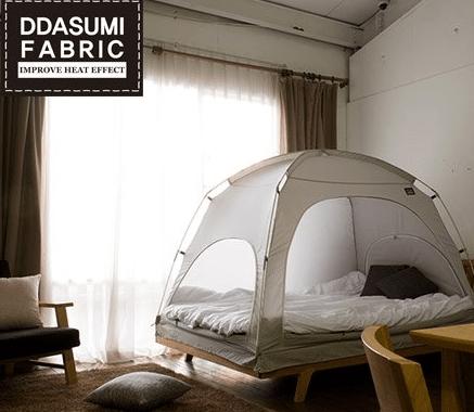 冬におすすめ室内テント!本当に暖房いらないの?値段や使い方も紹介!