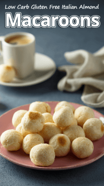 Low Carb Gluten Free Italian Almond Macaroons