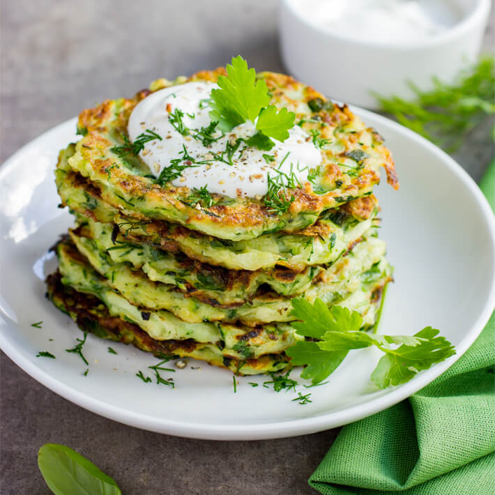 Low Carb Zucchini Fritters 1