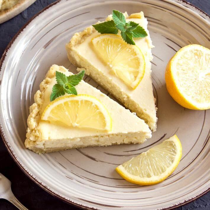 Low Carb Lemon Ricotta Cake