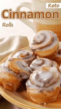Keto Cinnamon Rolls