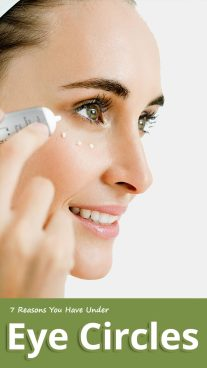 7 Reasons You Have Under Eye Circles