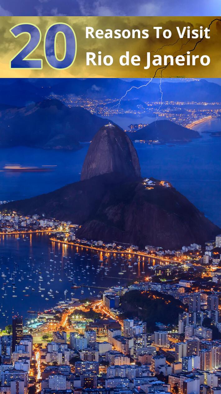 20 Reasons To Visit Rio de Janeiro
