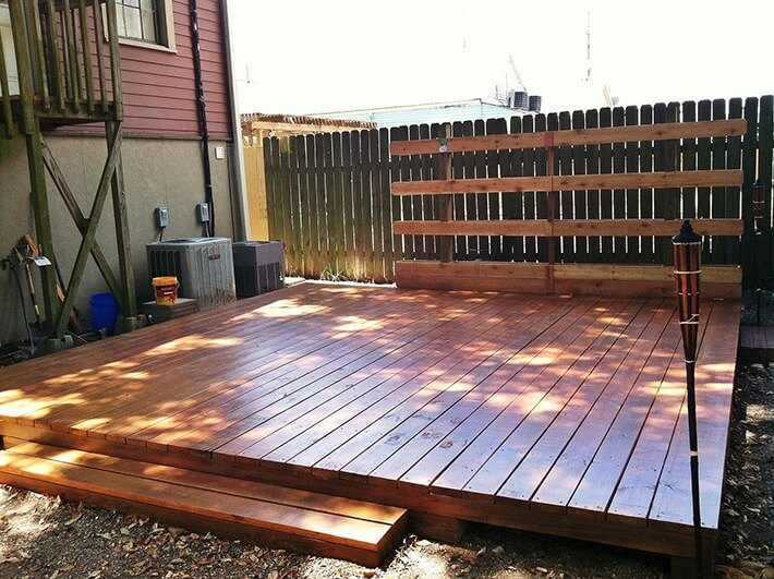 DIY - Backyard Deck