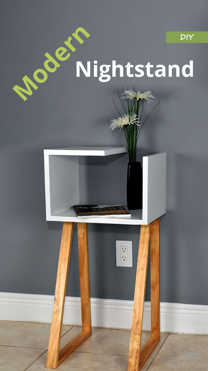 DIY – Modern Nightstand